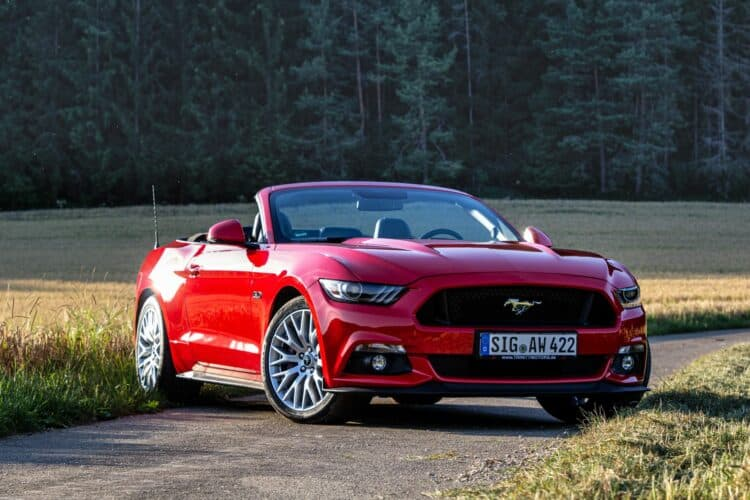 ford mustang cabrio mieten am bodensee