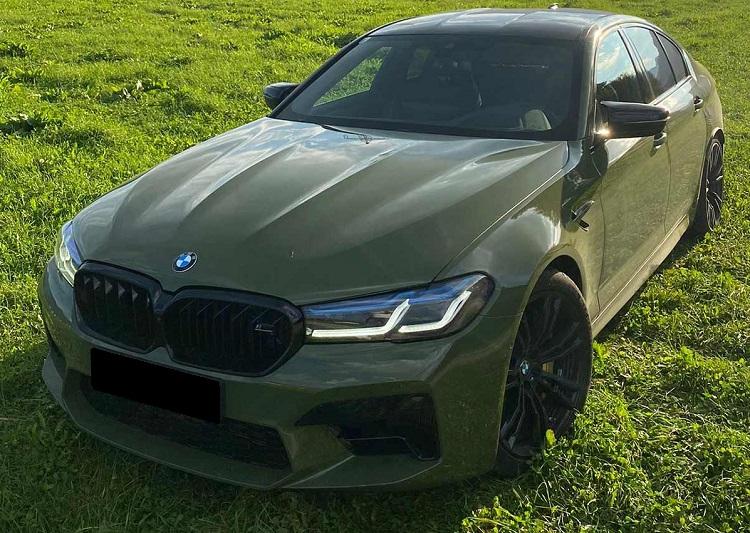 BMW M5 Competition mieten in Innsbruck